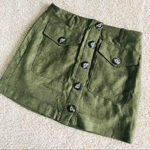 256c4d637c Dresses & Skirts - LAST 2❌FINAL CHANCE❌ BUTTON DOWN SKIRT OLIVE